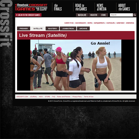 Cheer Iceland's Annie Mist to Victory - Live Online at the 2011 Reebok Crossfit Games