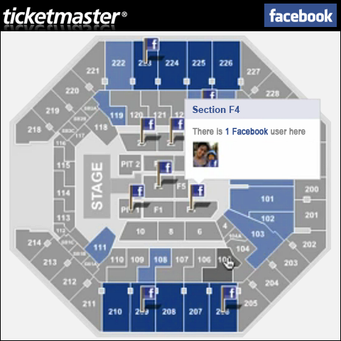 Ticketmaster goes fully social with Facebook