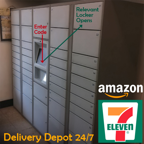 Amazon teams up with 7-Eleven to eliminate missed deliveries