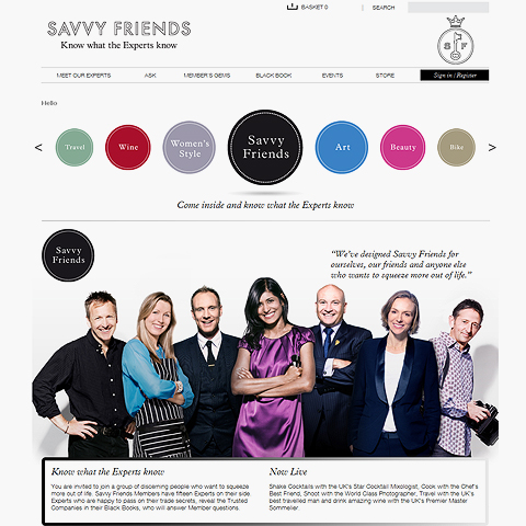 Savvy Friends Goes Live!