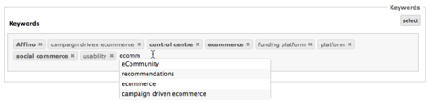 Affino 6.0.14 Release - Usability and Ecommerce
