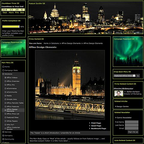 Affino Design Elements Encyclopaedia goes live!