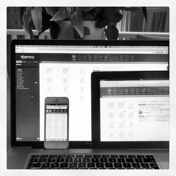 Multi-format Affino 7 - Desktop, Laptop, Tablet and Mobile