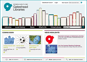 Gateshead Libraries | UK
