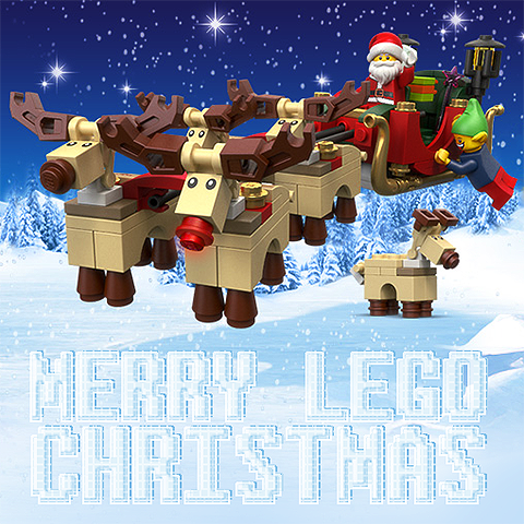 Lego Owns Christmas 2014